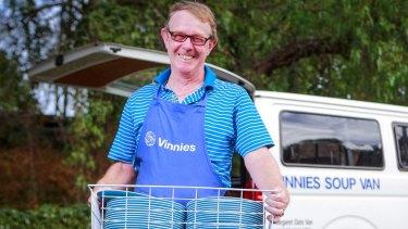 Ken Wilson, a volunteer for 32 years, and now OAM.