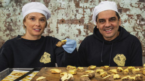 Melissa Altman and Pierre Issa (Pepe) of Pepe Saya.
