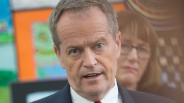 """Opposition Leader Bill Shorten has seized on development: """"My message to Malcolm Turnbull and his Liberals is 'hands off Medicare'."""""""