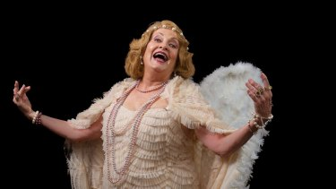 Diana McLean as Florence Foster Jenkins in Glorious!