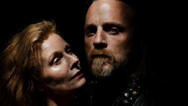 Alison Whyte and Nathaniel Dean in <i>Macbeth</i>.