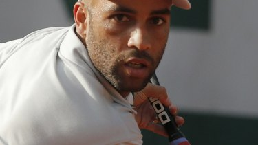 Former professional tennis player James Blake, who was left with cuts and bruises when he was wrongly arrested by an undercover detective.