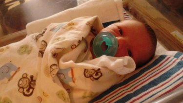 Jacob Thompson was four days old when he died.