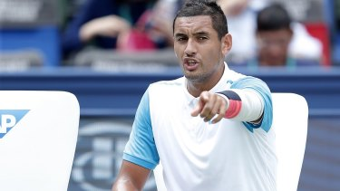 Kyrgios says he's not concerned at all about the fines he's facing.
