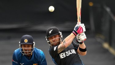 Natural leader:  New Zealand captain Brendon McCullum.