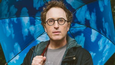 """For me, there wasn't much difference between being on a porn set and backstage at the theatre,"" Jon Ronson says."
