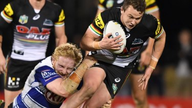 Timely return: Panthers young gun Dylan Edwards.