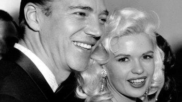 Mickey Hargitay and Jayne Mansfield in 1957. Actor Mariska Hargitay is their daughter.