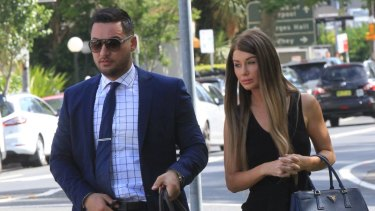 Salim Mehajer, here with wife Aysha, has made several appearances in Sydney courts.