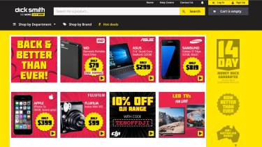 The Dick Smith brand lives on online.