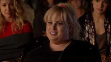 Wilson as Fat Amy in Pitch Perfect 3.