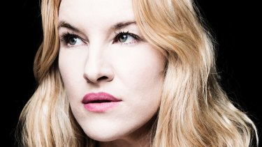 Kate Mulvany during rehearsals for <i>Richard III</i>.