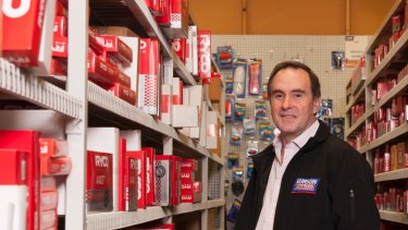 Darryl Abotomey  of  Bapcor, which  has received a string of approaches for a footwear retailing business and a resource services business which it acquired as part of the broader $336 million takeover of a New Zealand auto firm.