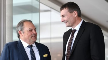 Retail Food Group chairman Colin Archer was glowing in his assessment of Tony Alford's tenure.
