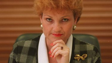 Federal Independant MP Pauline Hanson.