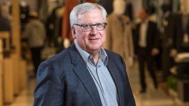 New Myer Chairman Garry Hounsell.