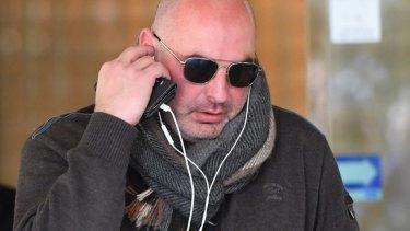 Daniel Hausman leaves court on June 13, 2017.