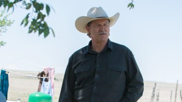 Jeff Bridges plays Texas Ranger Marcus Hamilton, a lawman tasked with capturing two brothers on the eve of his retirement, in <i>Hell or High Water</i>.