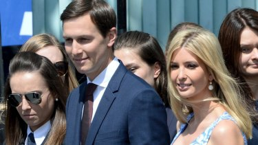 Ivanka Trump in Poland with her husband, Jared Kushner, a senior adviser to President Donald Trump, during the President's recent European trip.
