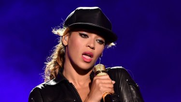 'I want to dedicate this song to my beautiful husband' ... Beyonce has declared her love for Jay Z during a performance in Miami. File photo.