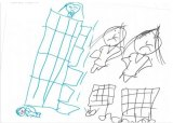 """""""I jumped from the house to the ground and I died. My mum and dad are crying."""" A girl, 7, held in detention at Wickham Point explains her drawing."""