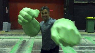 Mark Ruffalo on the set of <i>Thor: Ragnarok</i> on the Gold Coast.
