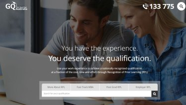 Get Qualified Australia was an education consultant that assisted job seekers in obtaining recognition of prior learning in industries such as beauty, construction and business.