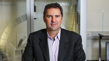 Slashing climate jobs: CSIRO boss Larry Marshall.