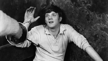 Malcolm McDowell in the 1968 film If...