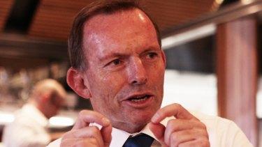 Tony Abbott says he is not taking pot-shots.