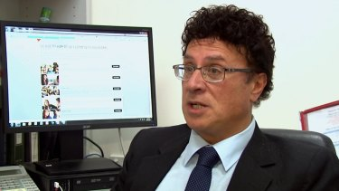 Disgraced former Victorian education department finance manager Nino Napoli.