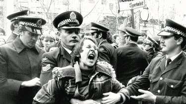 Sydney's gay and lesbian community was subjected to undue force and discrimination by the NSW Police during and following the first Mardi Gars in 1978.