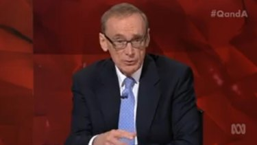 Bob Carr thought Malcolm Turnbull being PM at least places Australia back on friendlier global ground on issues like climate change.