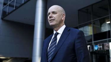 Fairfax chief executive Greg Hywood is pursuing a split of assets.