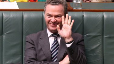 Politician-turned-writer Christopher Pyne.