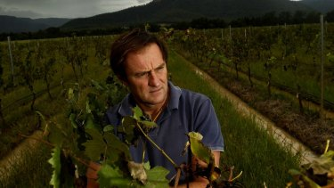 Hunter Valley winemaker Andrew Margan: hit by Nigerian scammers.