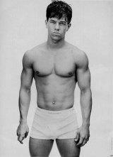 Mark Wahlberg modelling for Kalvin Klein in 1992.