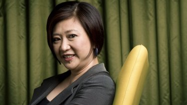 """Singtel group CEO Chua Sock Koong: """" The larger the company, the less likely the head will be a woman."""""""