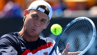 Room for one more: Matt Ebden will compete in the men's singles at Wimbledon.