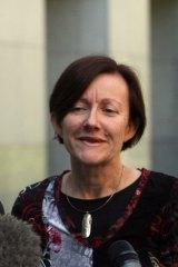 Greens senator Rachel Siewert.