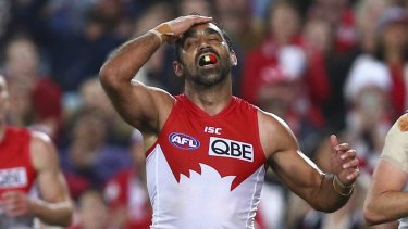 Campaigner: Adam Goodes was publicly maligned over an extended period.