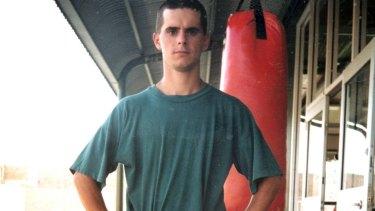 Matthew De Gruchy in prison circa 2001.