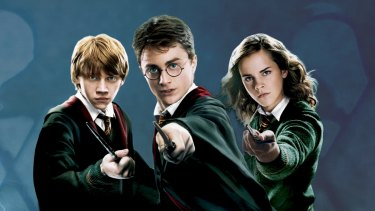 Hogwart's duelling wizarding trio of Harry, Ron and Hermione has company in America.