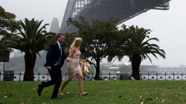 Sydney could almost double its rainfall for the year in just one week.