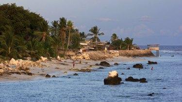Nauru, host to asylum seeker processing on behalf of Australia.