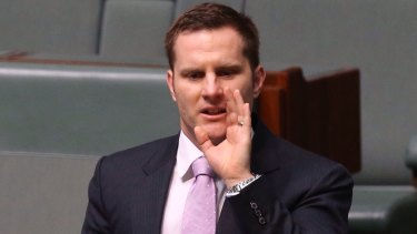 Assistant Minister to the Treasurer Alex Hawke.