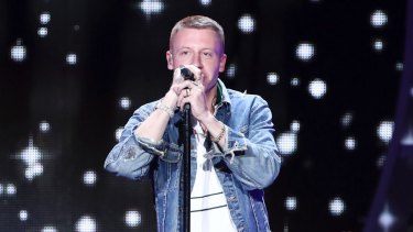 Had Macklemore simply come, performed his hits, and left, his performance would probably have left barely any political residue.