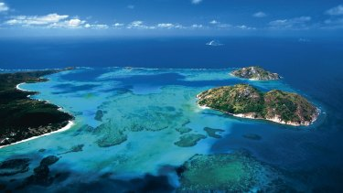 Lizard Island: A sharp decline in calcium carbonate.