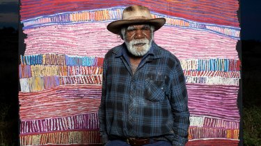 Artist Ray Ken has been named as one of the 30 indigenous artists taking part in the National Gallery of Australia's Defying Empire: 3rd National Indigenous Art Triennial.