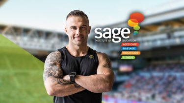 It is reported that Sage spent $6 million marketing its Diploma of Fitness Coaching Course.